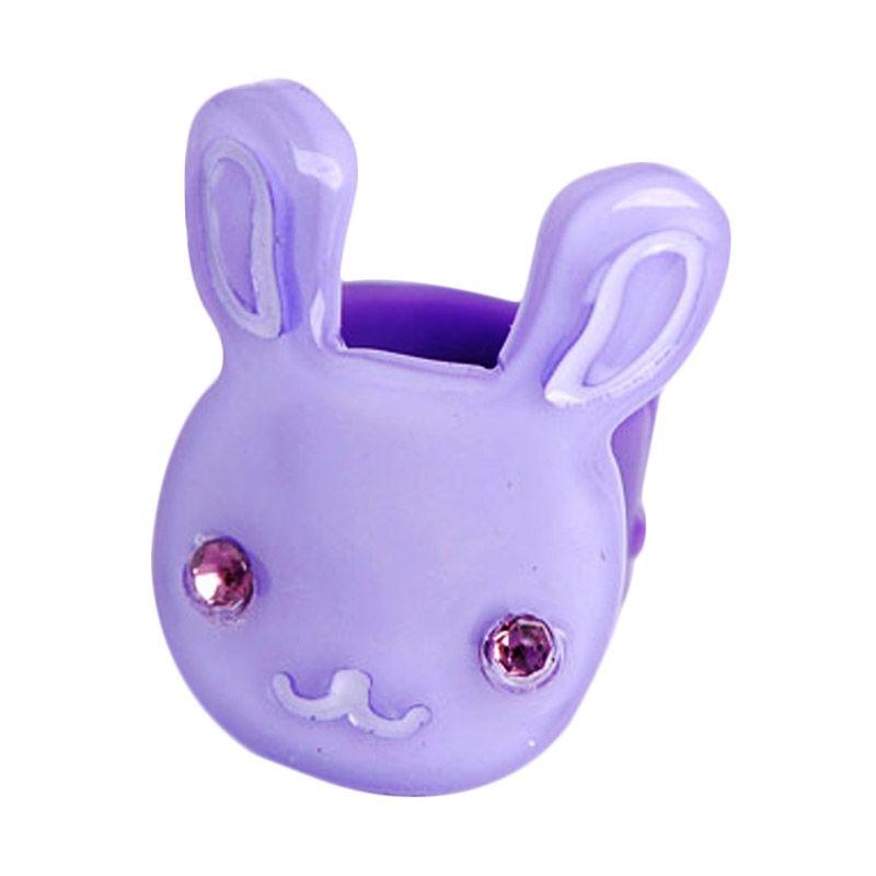 Fashionista KHA17387 Rabbit Purple Jepit Rambut