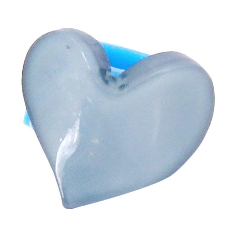 Fashionista KHA17389 Heart Blue Grey Jepit Rambut