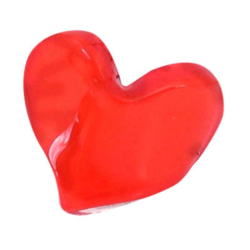 Fashionista KHA17391 Heart Red Jepit Rambut