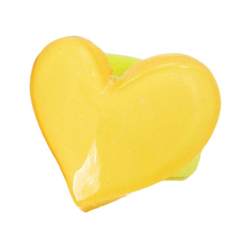 Fashionista KHA17392 Heart Yellow Jepit Rambut