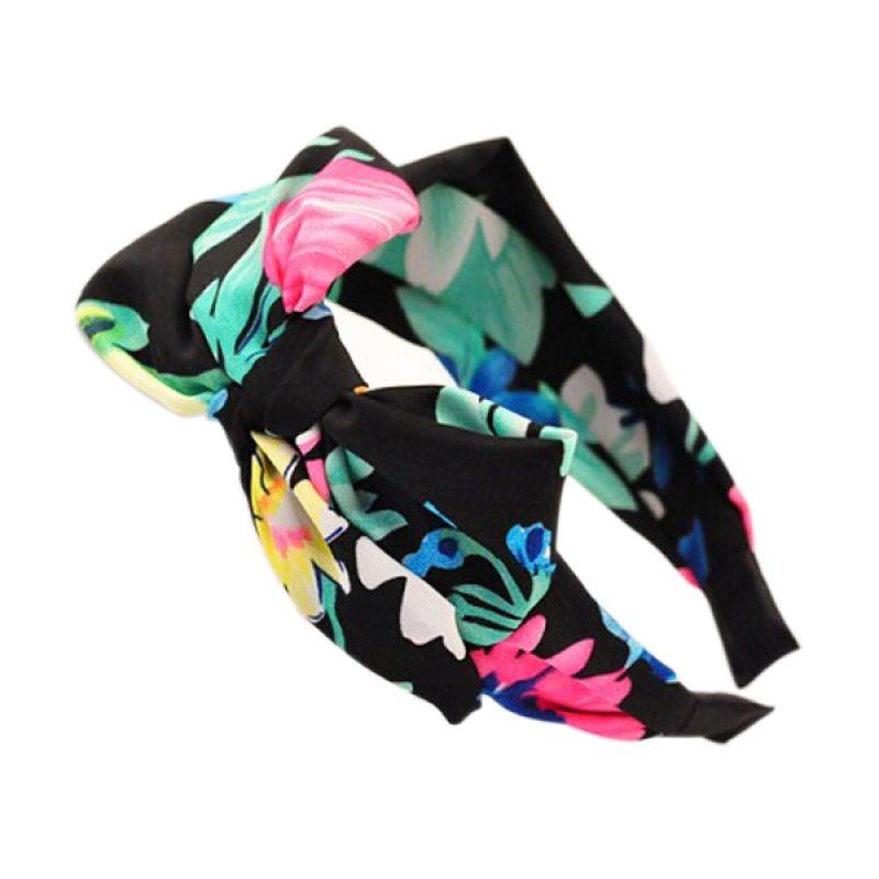 Fashionista KHA35016 Korea Bowknot Multicolor Black Bando