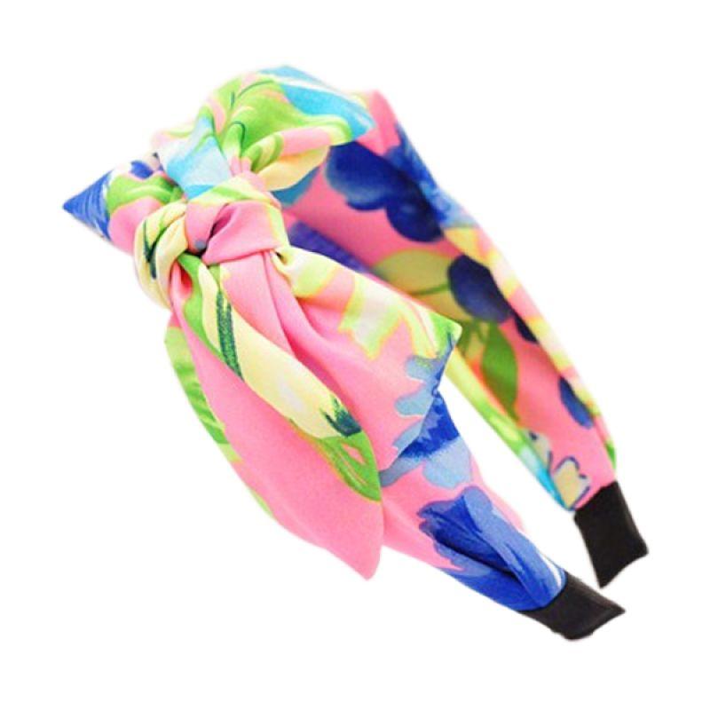 Fashionista KHA35018 Korea Bowknot Multicolor Pink Bando