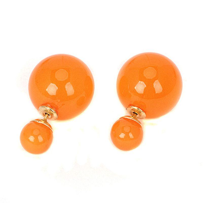 Fashionista Korea Dior Baby KE12590 Orange Anting