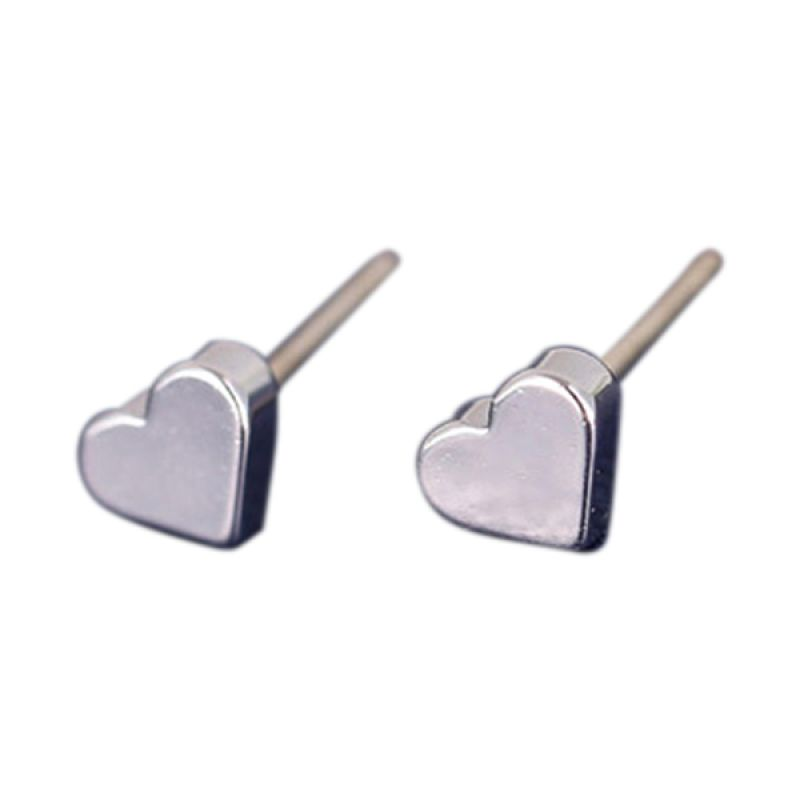 Fashionista Korea Heart KE40028 Silver Anting
