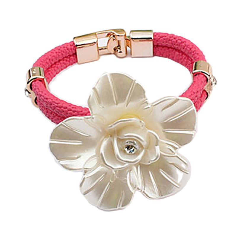 Fashionista Korea KB54065 Flower Plum Red Gelang