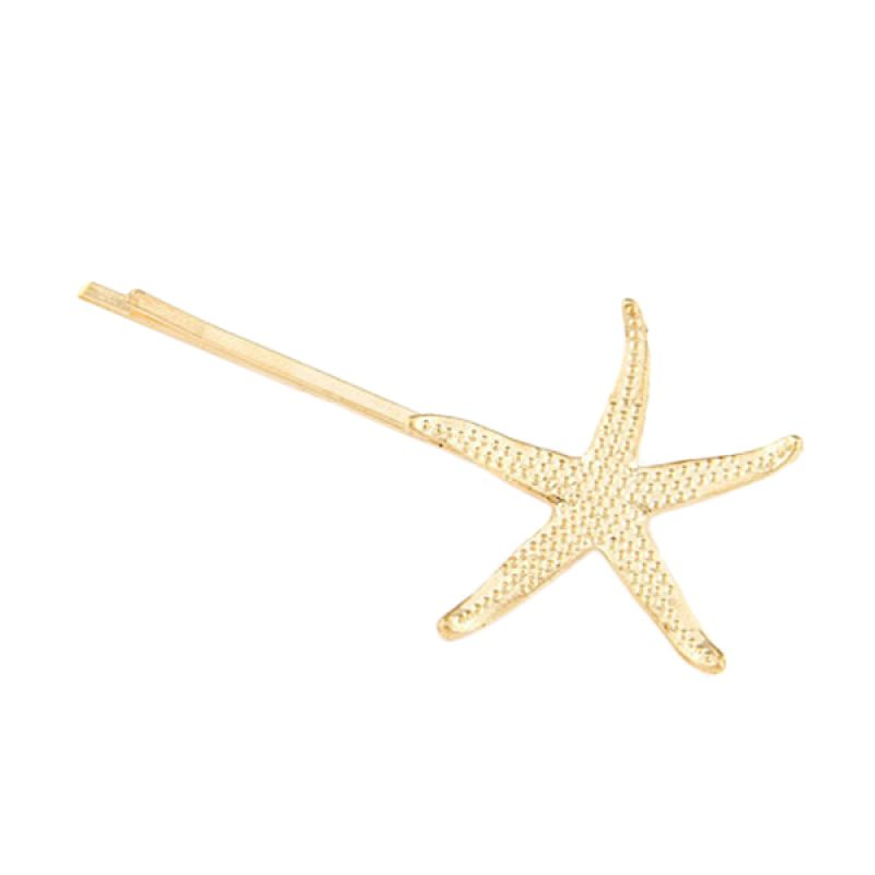 Fashionista Korea KHA35402 Starfish Gold Jepit Rambut
