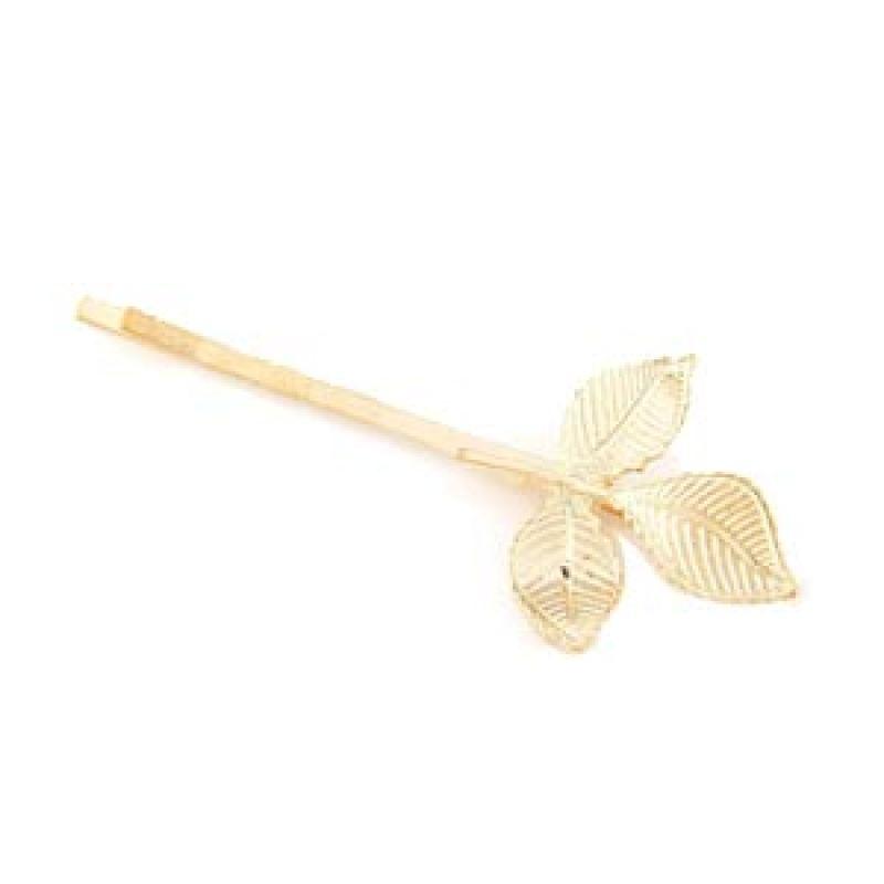 Fashionista Korea KHA35405 Leaf Gold Jepit Rambut