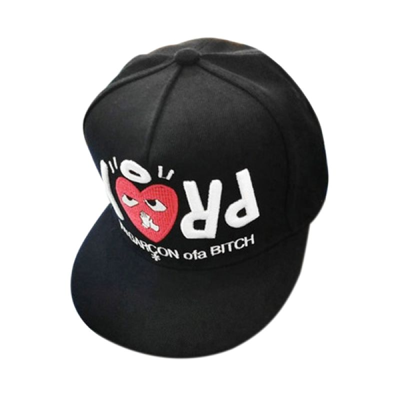 Fashionista Korea Lovely PRAY FH18495 Black Topi
