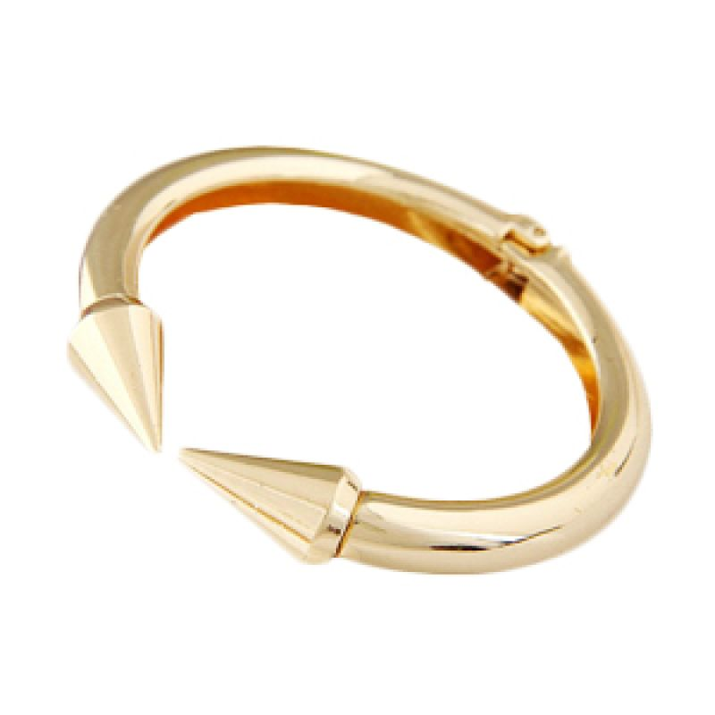 Fashionista Korea Rivet Shape KB39292 Gold Gelang