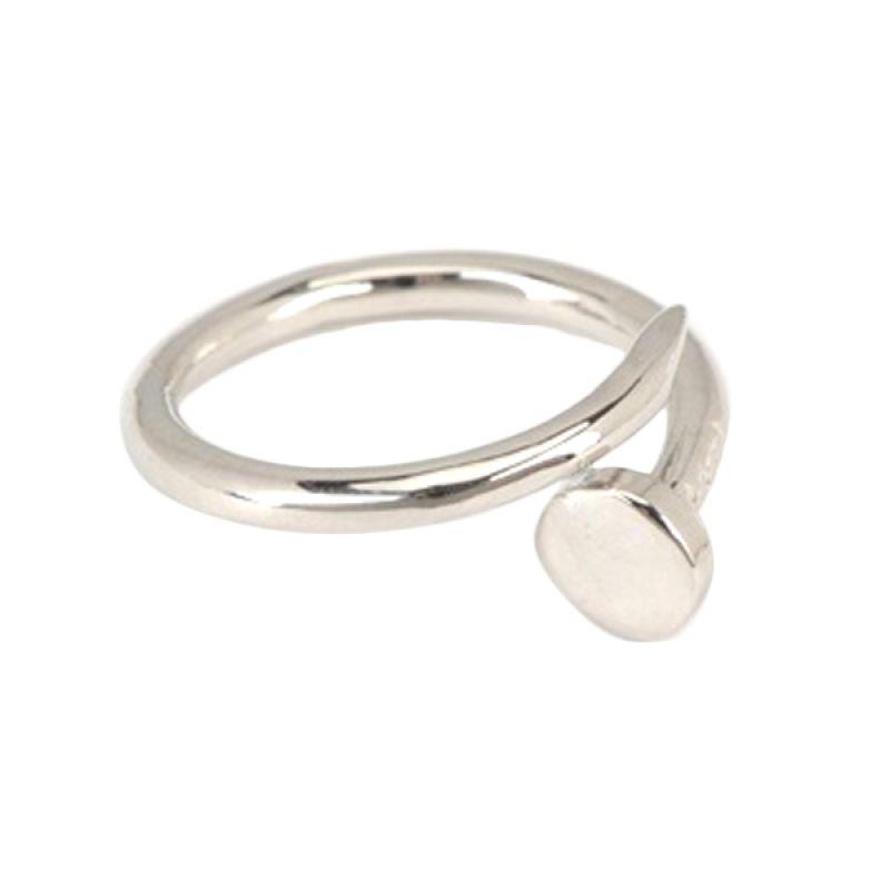 Fashionista  Korea Nail KR12033 Silver Cincin