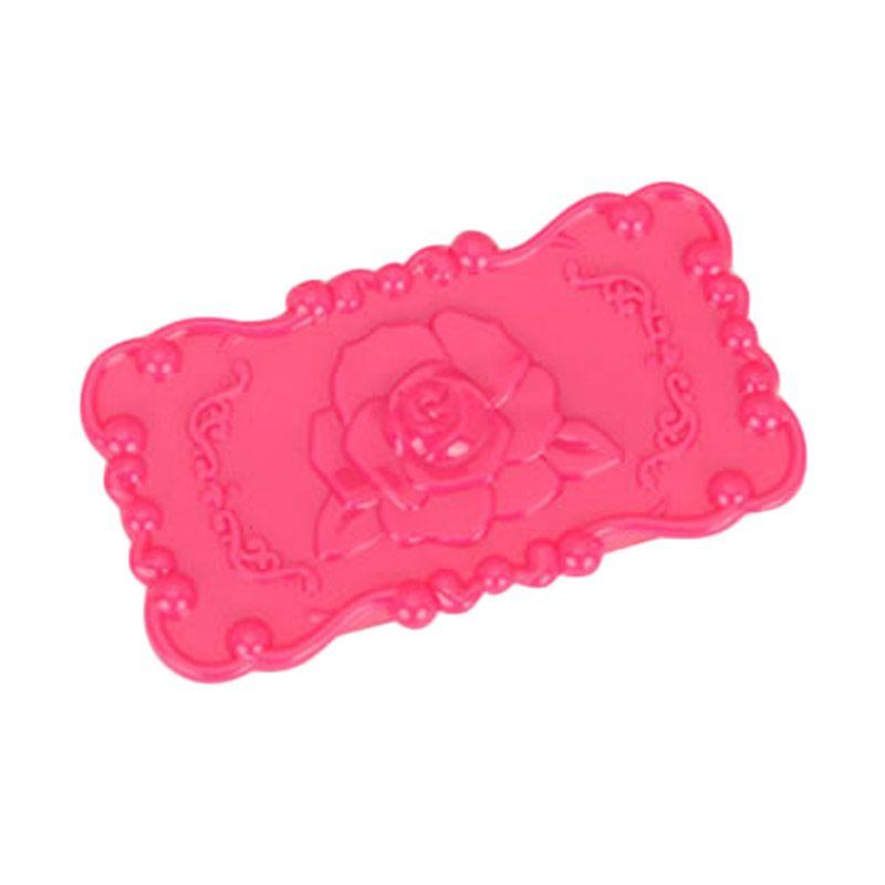 Fashionista ST79065 Square Pink Rose Tempat Perhiasan