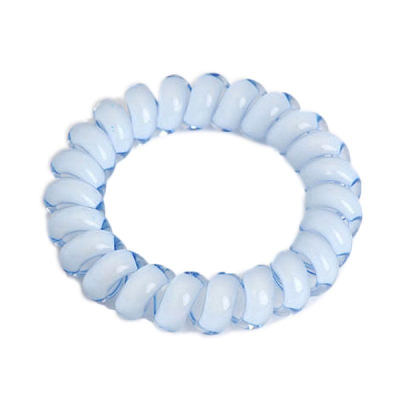 Fashionista Telephone Wire KHA17116 Blue Ikat Rambut