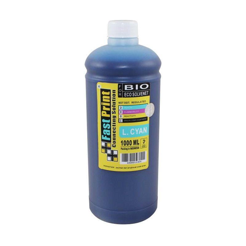 Fast Print Bio Eco Solvent Epson Light Cyan Tinta Printer [1000 mL]