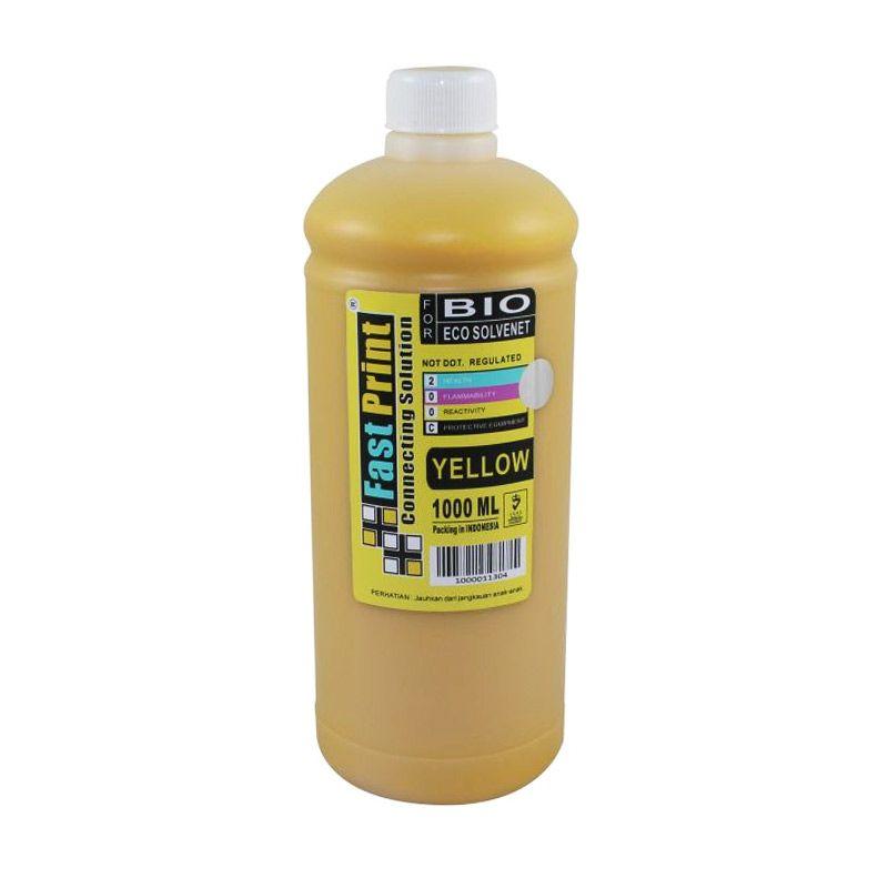 Fast Print Bio Eco Solvent Epson Yellow Tinta Printer [1000 mL]