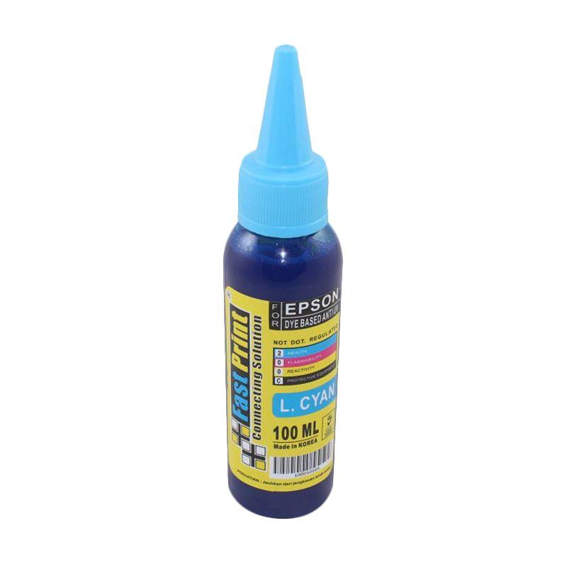 Fast Print Dye Based Anti UV Epson Light Cyan Tinta Printer [100 mL]