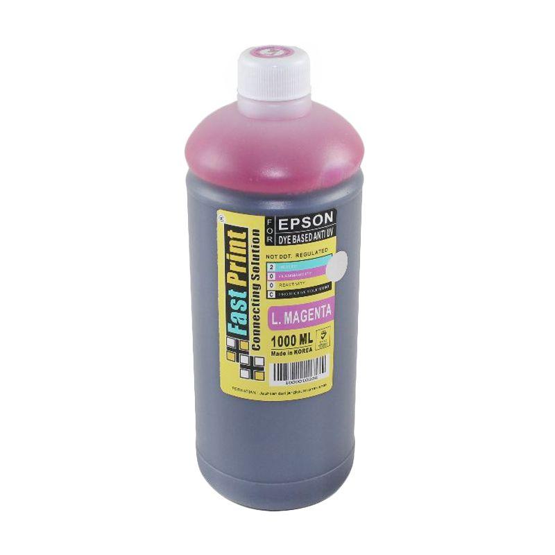 Fast Print Dye Based Anti UV Epson Light Magenta Tinta Printer [1000 mL]