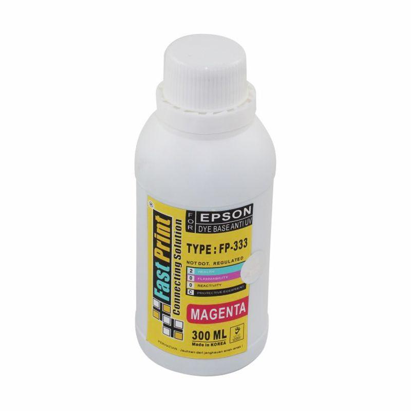 Fast Print Dye Based Anti UV Epson Magenta Tinta Printer [300 mL]