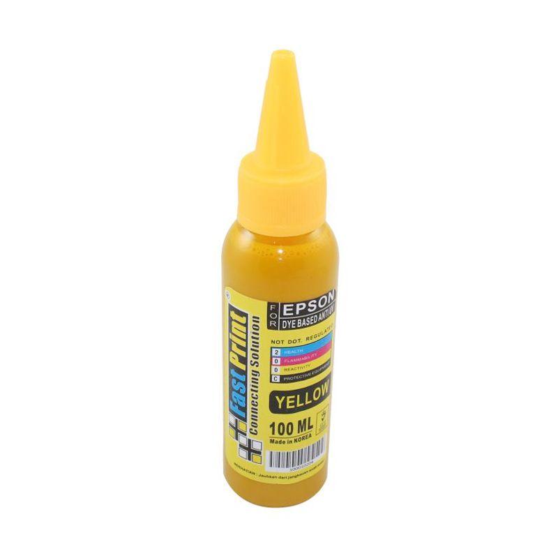 Fast Print Dye Based Anti UV Epson Yellow Tinta Printer [100 mL]
