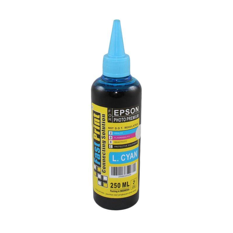 Fast Print Dye Based Light Cyan Tinta Printer [250 mL]