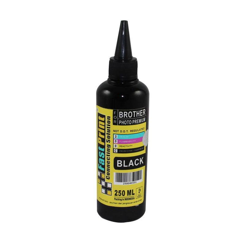 Fast Print Dye Based Photo Premium Brother Black Tinta Printer [250 mL]