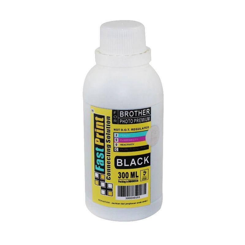 Fast Print Dye Based Photo Premium Brother Black Tinta Printer [300 mL]