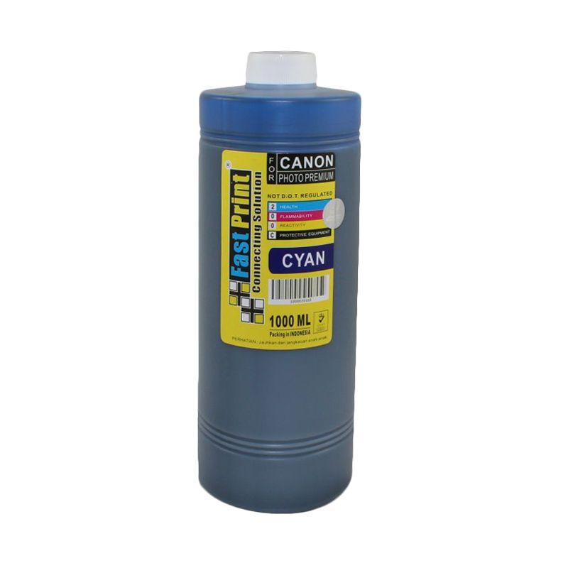 Fast Print Dye Based Photo Premium Canon Cyan Tinta Printer [1000 mL]