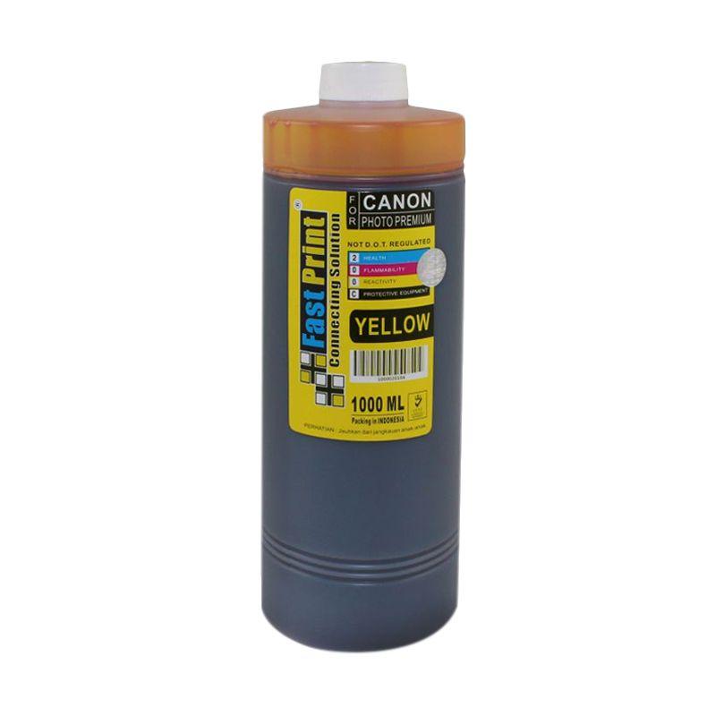 Fast Print Dye Based Photo Premium Canon Yellow Tinta Printer [1000 mL]