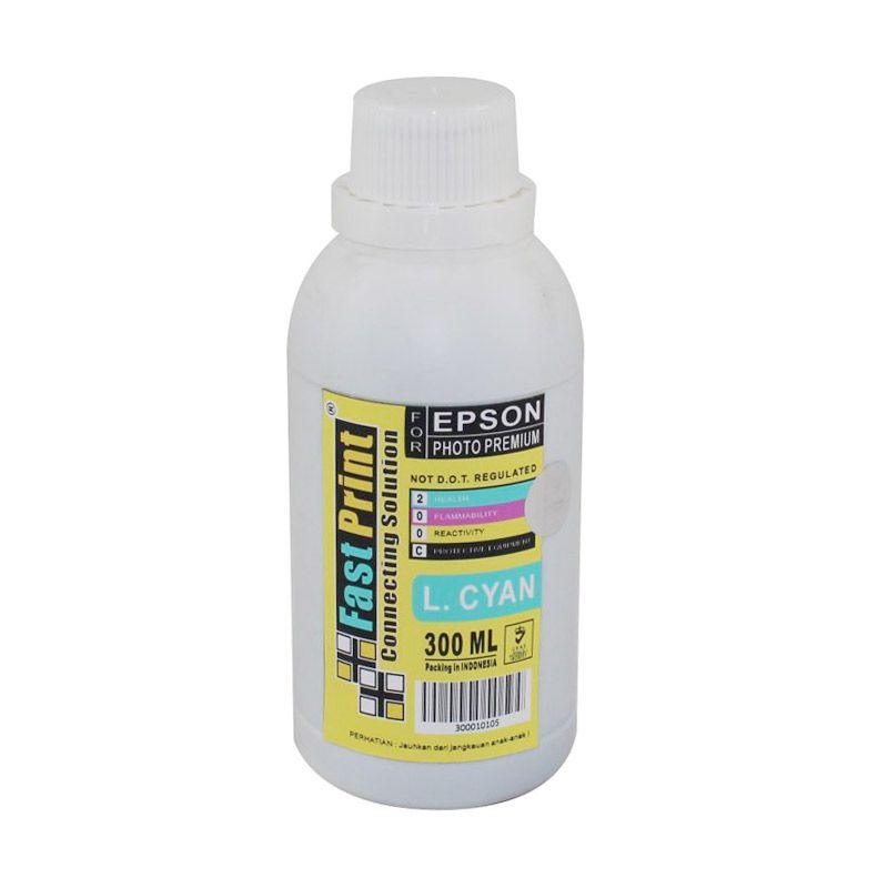 Fast Print Dye Based Photo Premium Epson Light Cyan Tinta Printer [300 mL]