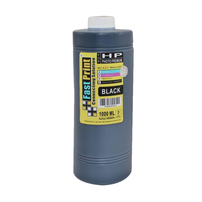 Fast Print Dye Based Photo Premium HP Black Tinta Printer [1000 mL]