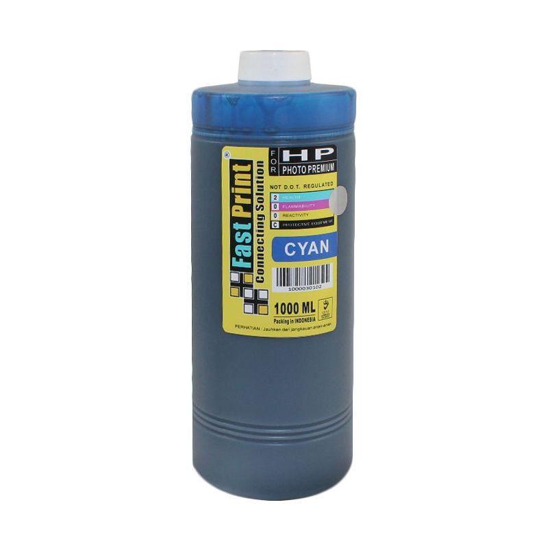 Fast Print Dye Based Photo Premium HP Cyan Tinta Printer [1000 mL]