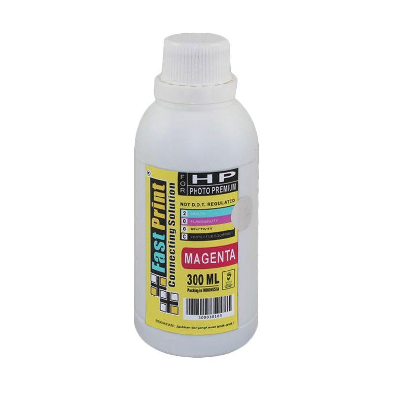 Fast Print Dye Based Photo Premium HP Magenta Tinta Printer [300 mL]