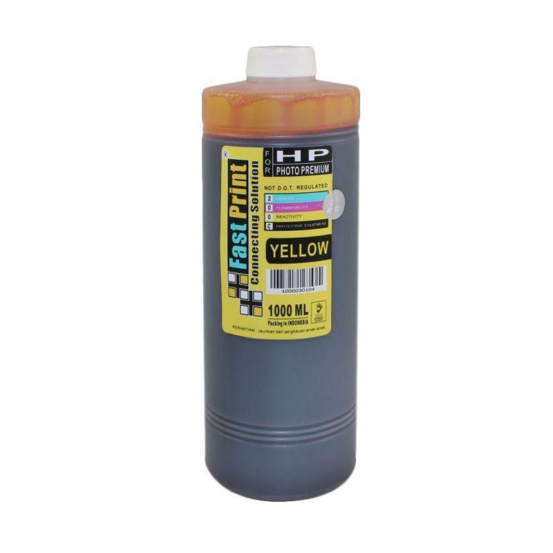 Fast Print Dye Based Photo Premium HP Yellow Tinta Printer [1000 mL]