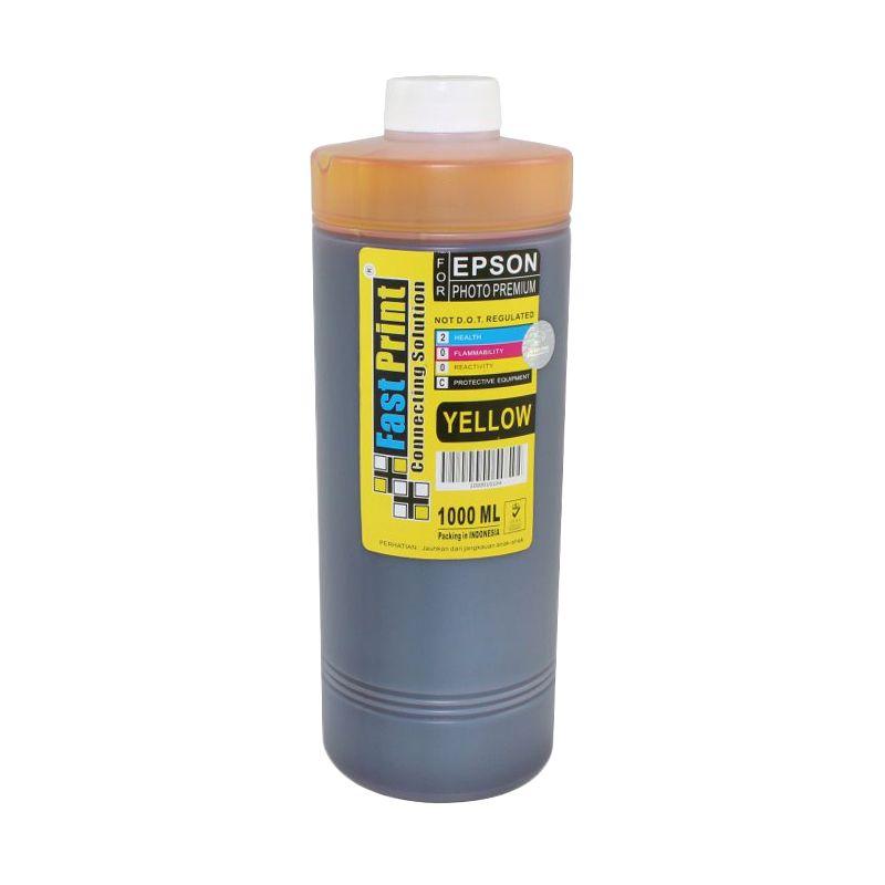 Fast Print Dye Based Yellow Tinta Printer [1000 mL]