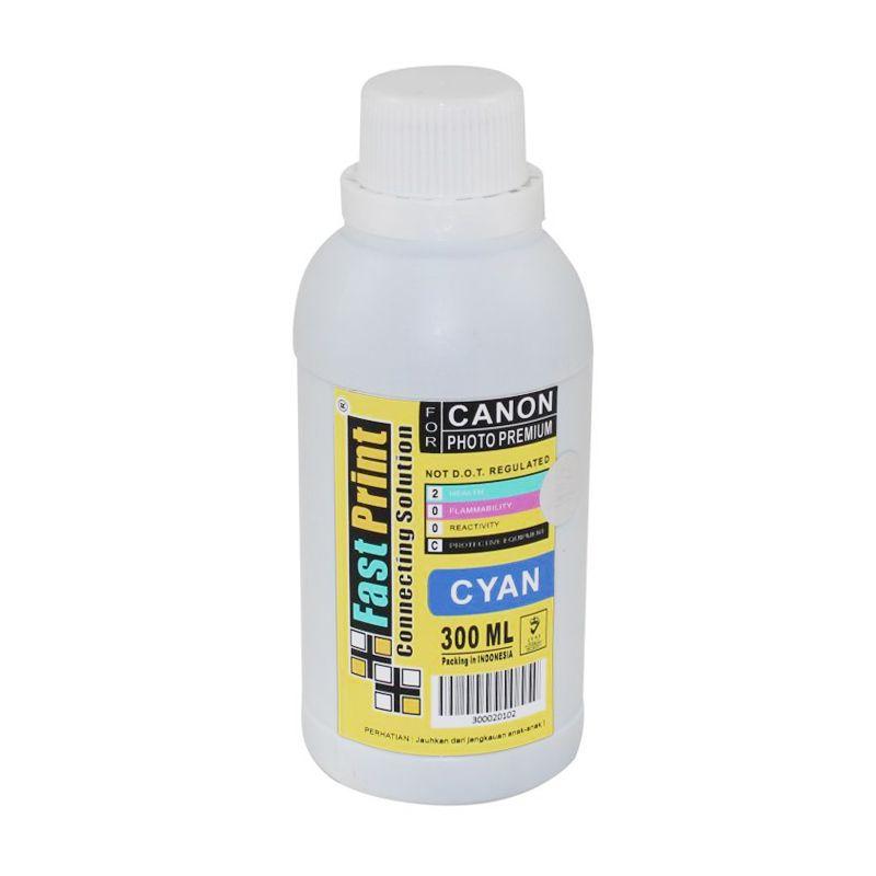 Fast Print Dye Based Photo Premium Canon Cyan Tinta Printer [300 mL]