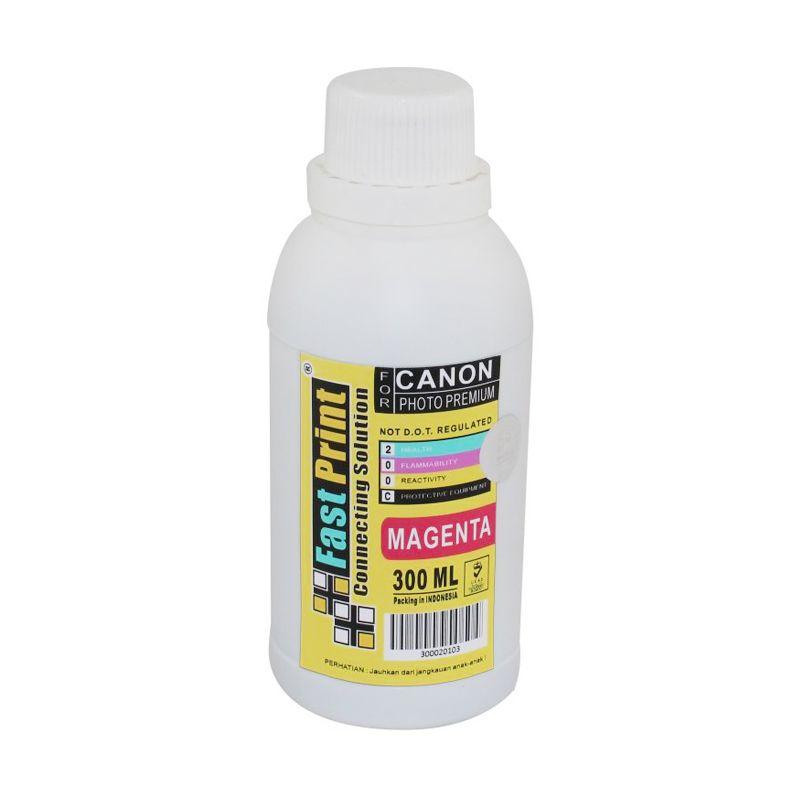 Fast Print Dye Based Photo Premium Canon Magenta Tinta Printer [300 mL]