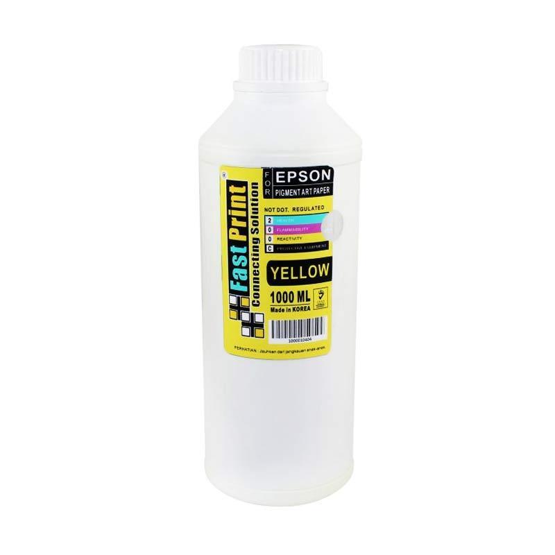 Fast Print Pigment Art Paper Korea Epson Yellow Tinta Printer [1000 mL]