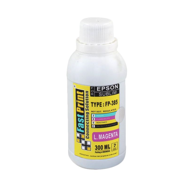 Fast Print Sublim China Epson Light Magenta Tinta Printer [300 mL]
