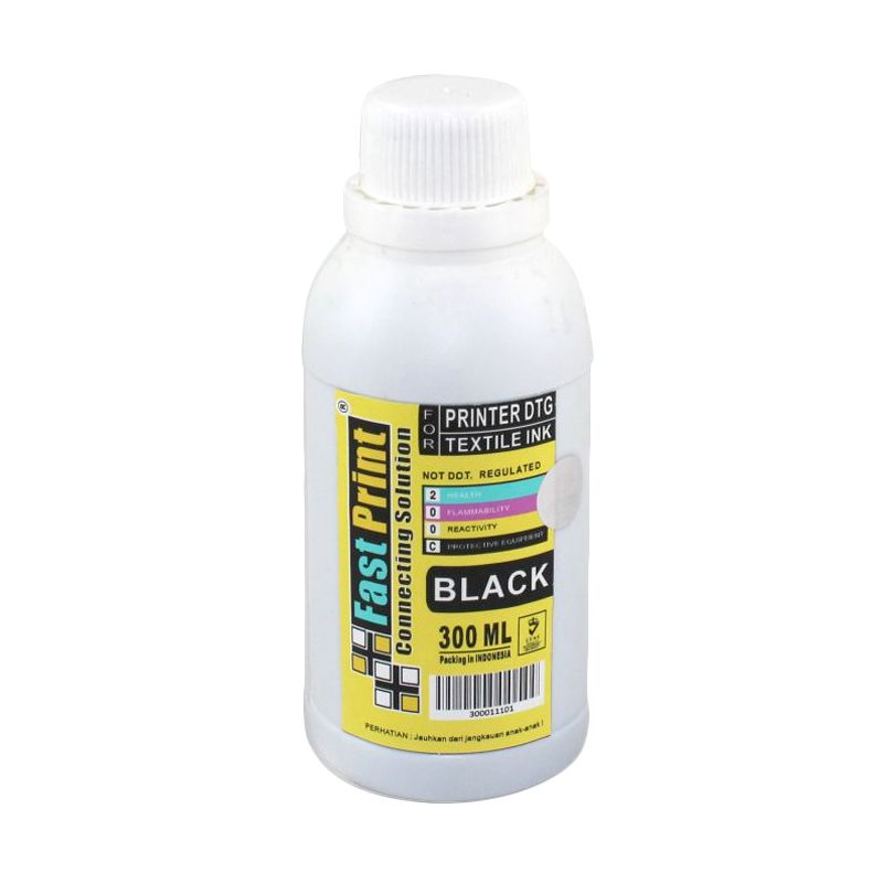 Fast Print Textile DTG Black Tinta Printer [300 mL]