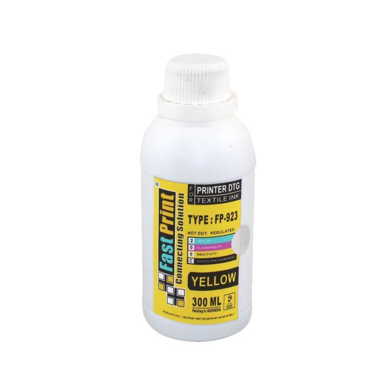Fast Print Textile DTG Yellow Tinta Printer [300 mL]