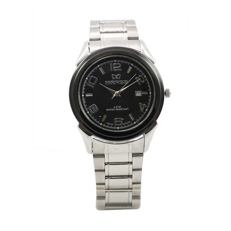 Mirage Original Watch Japan Technology 8185 BRP-M Jam Tangan Pria - Black