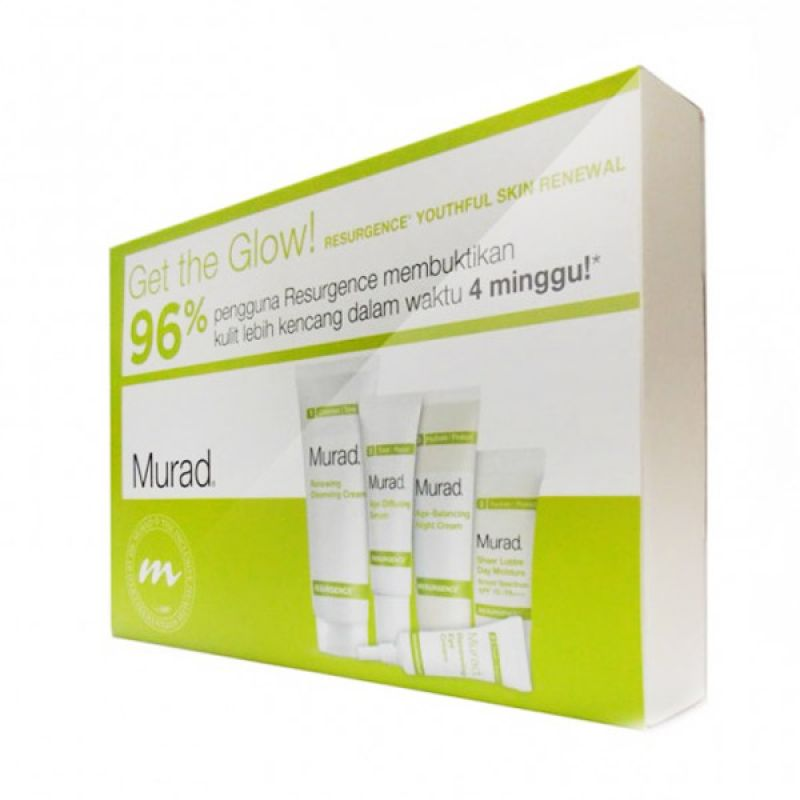 Murad Resurgence Kit 30 Days Get The Glow - Perawatan Wajah