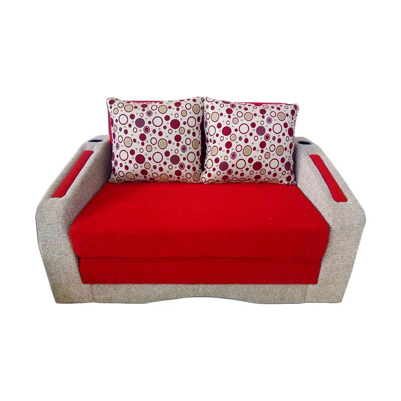 FCENTER Sofabed Recklening + FREE PUFF [ JABODETABEK ]
