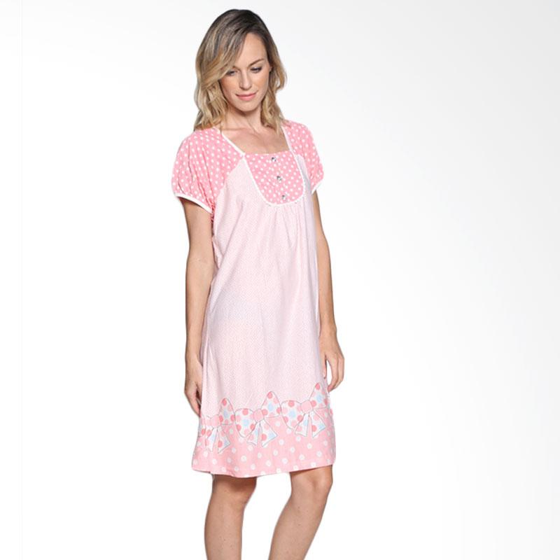 Felancy 078-NE3442 SLP Sleepwear - Salmon Pink