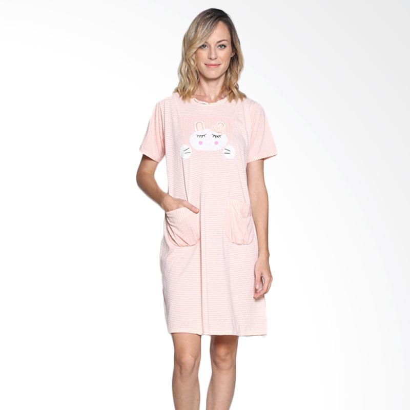 Felancy 078-NE3443 SLP Sleepwear - Salmon Pink