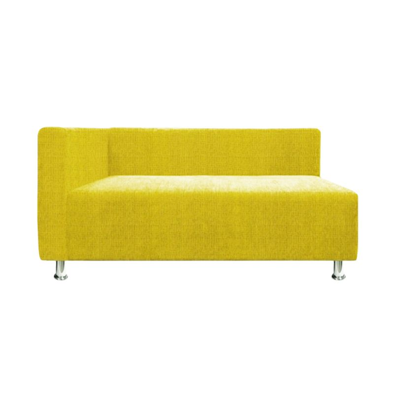 Ferniture Amarilis Sectional Sofa 2 Seater Kanan Kuning Sofa