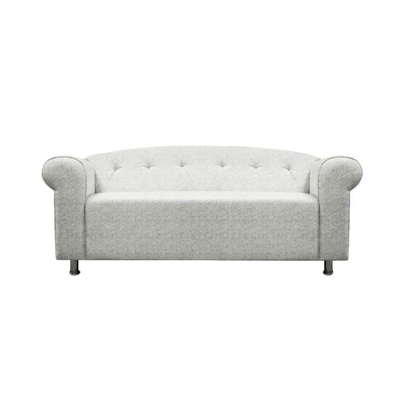 Ferniture Eolia 2 Seater Putih Gading Sofa