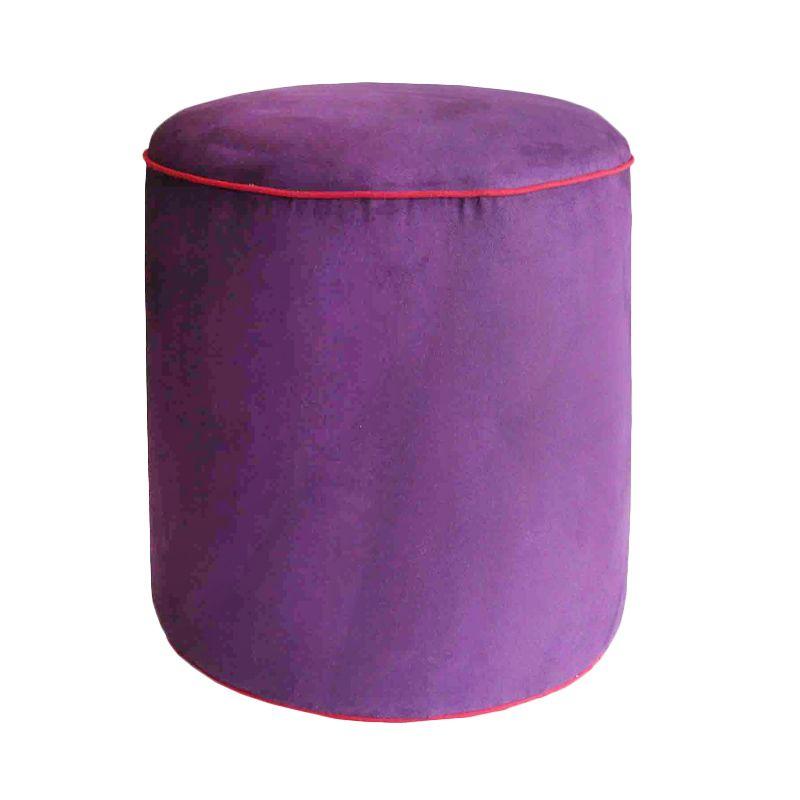 Tube Purple Stool Bangku