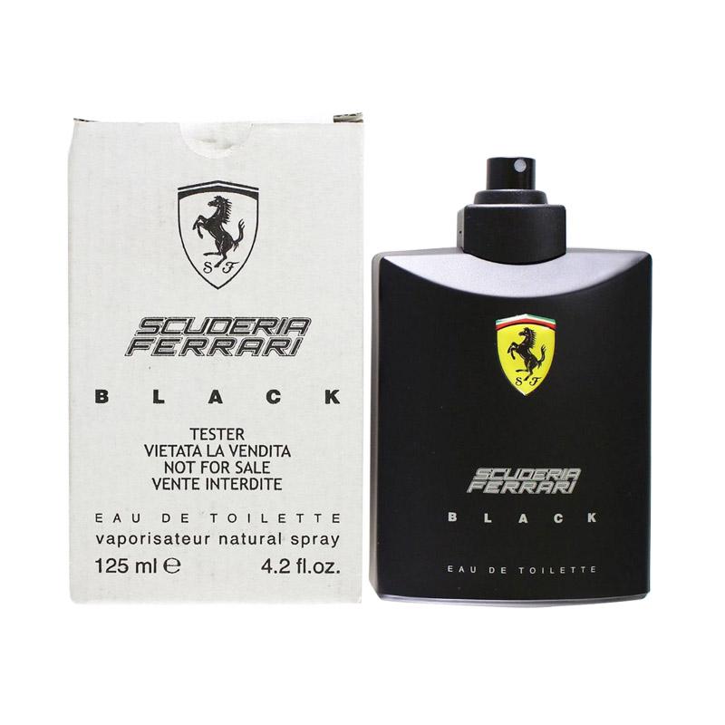 Ferrari Scuderia Black Man [125 mL/Tester]