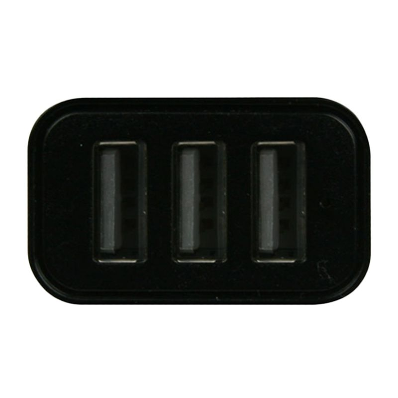Arctic Black Car Charger [3 Port]