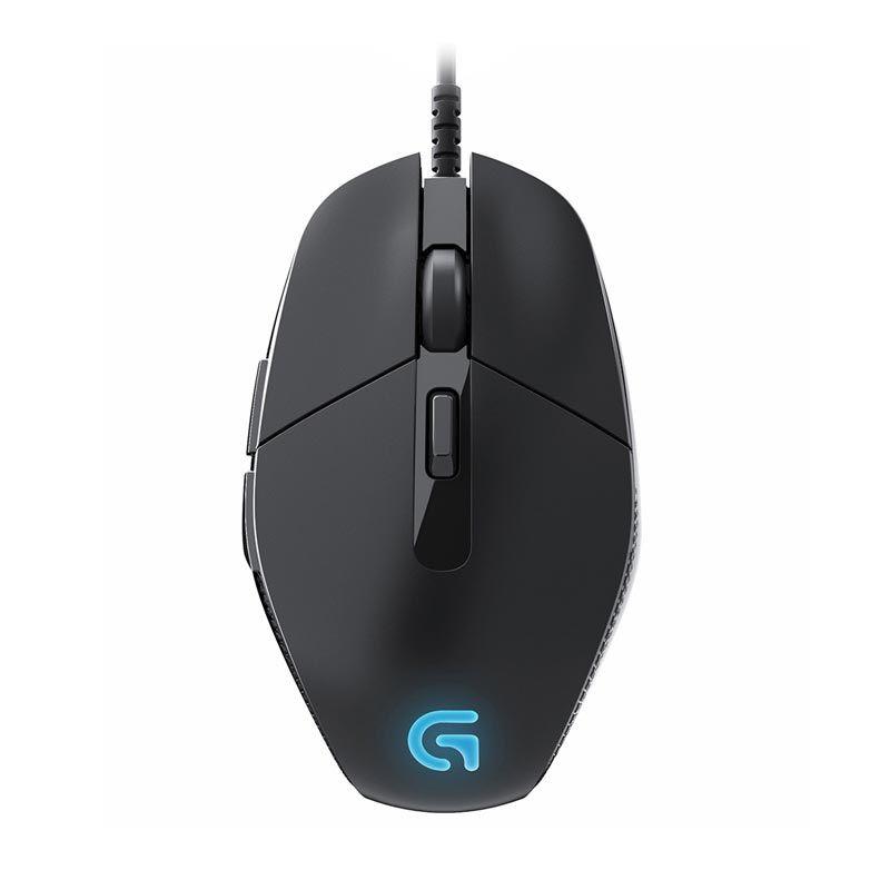 Logitech G302 Daedalus Prime MOBA Hitam Gaming Mouse